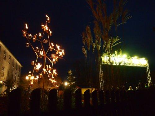 Feuergarten auf der Kaufunger Stiftsweihnacht